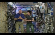 Space Station Crew Discusses Life in Space with Texas Students