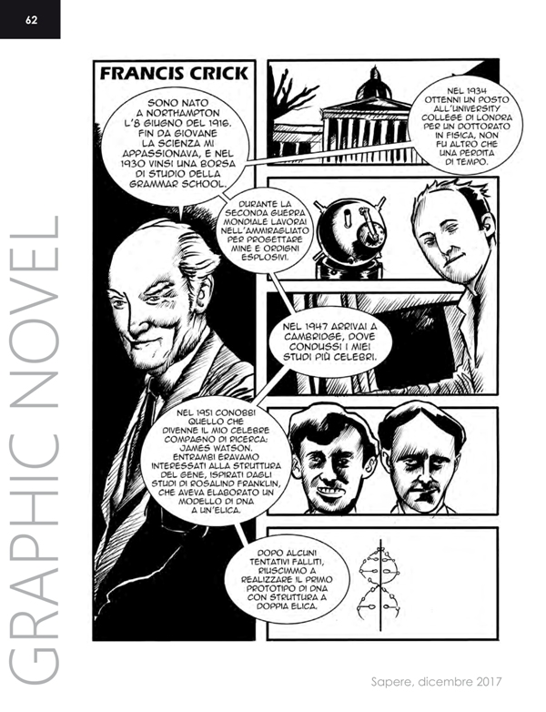 Graphic Novel FrancisCrick Sapere 6 - 2017