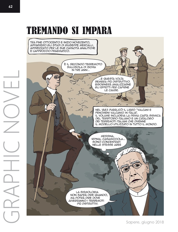 Sapere3 2018 GraphicNovel TremandoSImpara 1